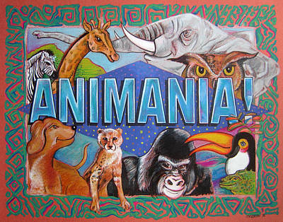 Painting - Animania by John Keaton