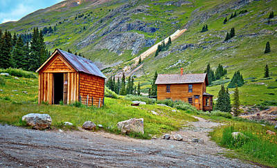 Photograph - Animas Forks Ghost Town by Linda Unger