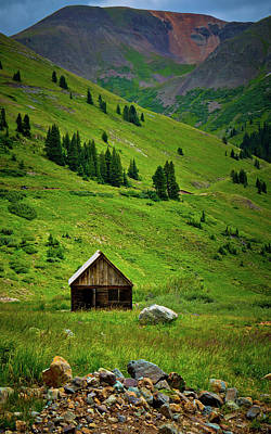 Photograph - Animas Forks by Linda Unger