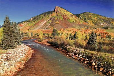 Photograph - Animas River In Silverton by Donna Kennedy