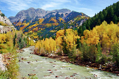 Photograph - Animas River San Juan Mtns, Co, Panorama by Kurt Van Wagner