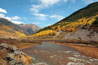 Photograph - Animas River by Steve Stuller