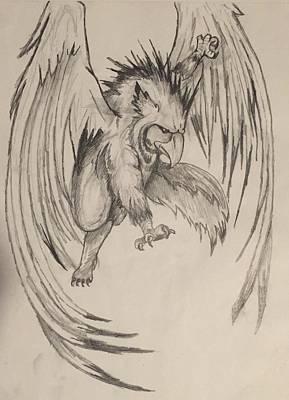 Rhaegal  Original by Jessica Malise