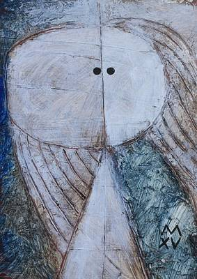 Outsider Art Painting - Animus No. 92 by Mark M  Mellon