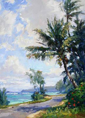 Painting - Anini Road by Jenifer Prince