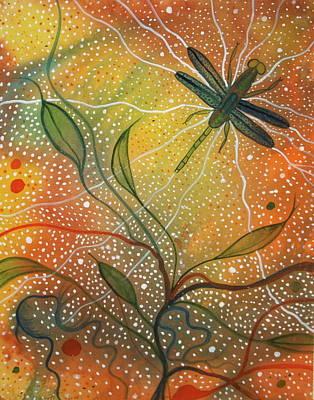 Anisozygoptera Art Print by Scott Harrington