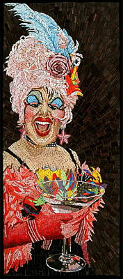 Outrageous Mixed Media - Anita Cocktail by Michael Kruzich