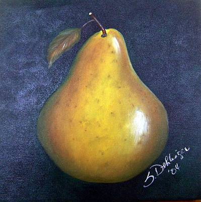 Painting - Anjou Pear  Sold by Susan Dehlinger
