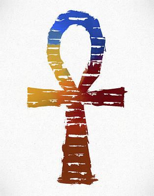 Ankh Art Print by Dan Sproul