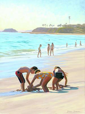 Painting - Ankle Deep by Steve Simon