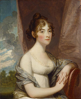 Reveal Painting - Ann Barry by Gilbert Stuart