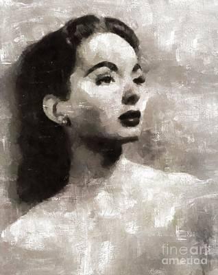 Ann Blyth, Actress Art Print by Mary Bassett