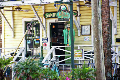 Photograph - Ann Omalleys Deli And Pub Saint Augustine by Gina O'Brien