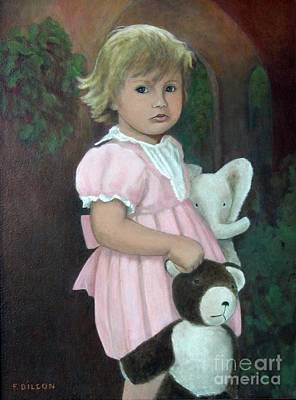 Painting - Anna And Playmates by Frances  Dillon