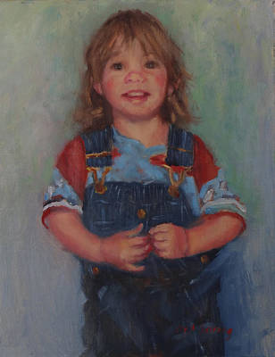 Painting - Anna by Carol Berning