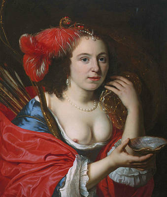 Painting - Anna Du Pire As Granida by Bartholomeus van der Helst