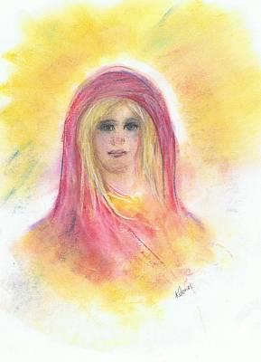 Painting - Anna by Karen Jane Jones