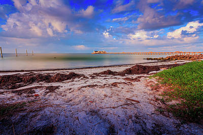 Photograph - Anna Maria City Pier by Doug Camara