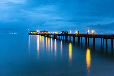Art Print featuring the photograph Anna Maria City Pier by Patrick Downey