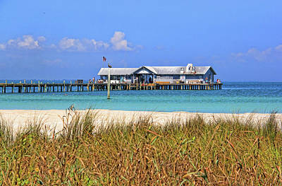 Photograph - Anna Maria Fishing Pier by HH Photography of Florida