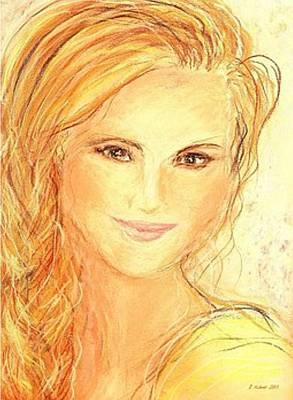 Pastel - Anna Paquin by Denise Fulmer