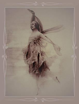 Photograph - Anna Pavlova No 2 Colorized by Robert G Kernodle