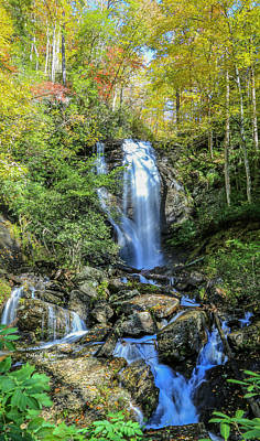 Photograph - Anna Ruby Falls by Bluemoonistic Images