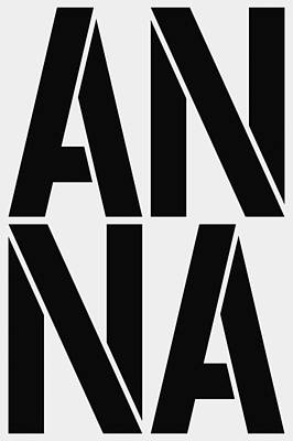 Avatar Painting - Anna by Three Dots