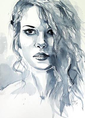 Painting - Annabell by Kovacs Anna Brigitta