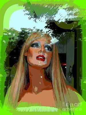 Digital Art - Annabelle by Ed Weidman