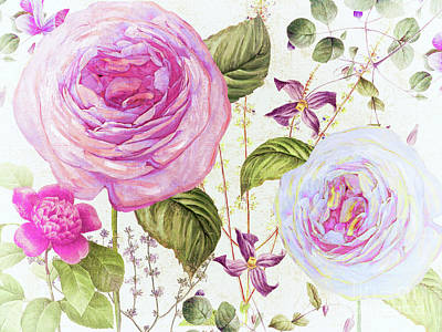 Roses Royalty-Free and Rights-Managed Images - Annabelle Lee III by Mindy Sommers