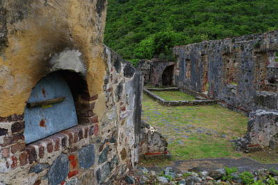 Art Print featuring the photograph Annaberg Sugar Mill Ruins At U.s. Virgin Islands National Park by Jetson Nguyen
