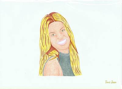 Annalynne Mccord Art Print