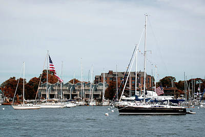 Photograph - Annapolis Harbor by Richard Macquade