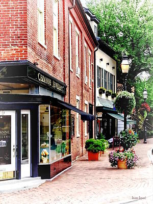 Photograph - Annapolis Md - Along State Circle by Susan Savad