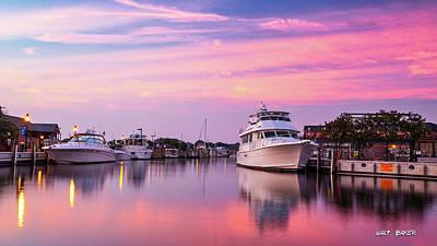 Photograph - Annapolis Sunrise by Walt Baker