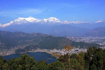 Photograph - Annapurna Mountain Range by Aidan Moran