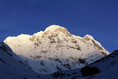 Photograph - Annapurna South 7,219m by Aidan Moran