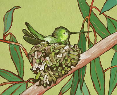 Painting - Annas Hummer by Sandy Tracey