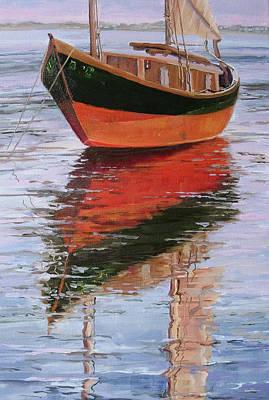 Anna's Tide Come In Art Print