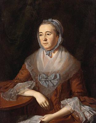 Painting - Anne Catharine Hoof Green  by Charles Willson Peale