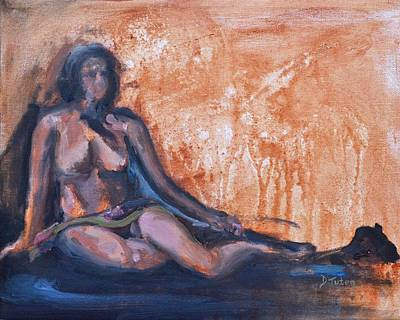 Nude Painting - Anne by Donna Tuten
