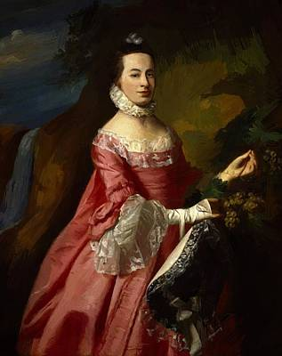 Painting - Anne Erving Mrs Duncan Stewart by Copley John Singleton