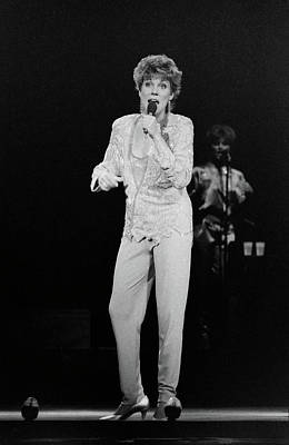 Photograph - Anne Murray At The Music Hall by Mike Martin