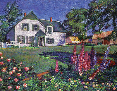 Anne Of Green Gables Painting - Anne Of Green Gables House by David Lloyd Glover