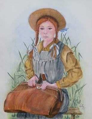 Painting - Anne Of Green Gables by Kelly Mills