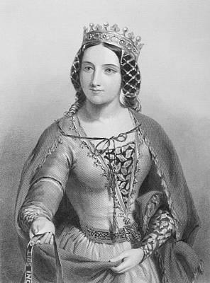 Anne Of Warwick, Anne Neville Print by Vintage Design Pics