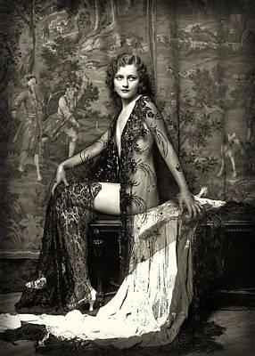 Anne Patterson Ziegfeld Girl C. 1923 Art Print