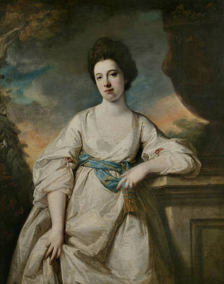 Painting - Anne Sawbridge by Francis Cotes