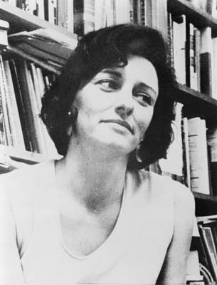 Bsloc Photograph - Anne Sexton 1928-1974, American Poet by Everett